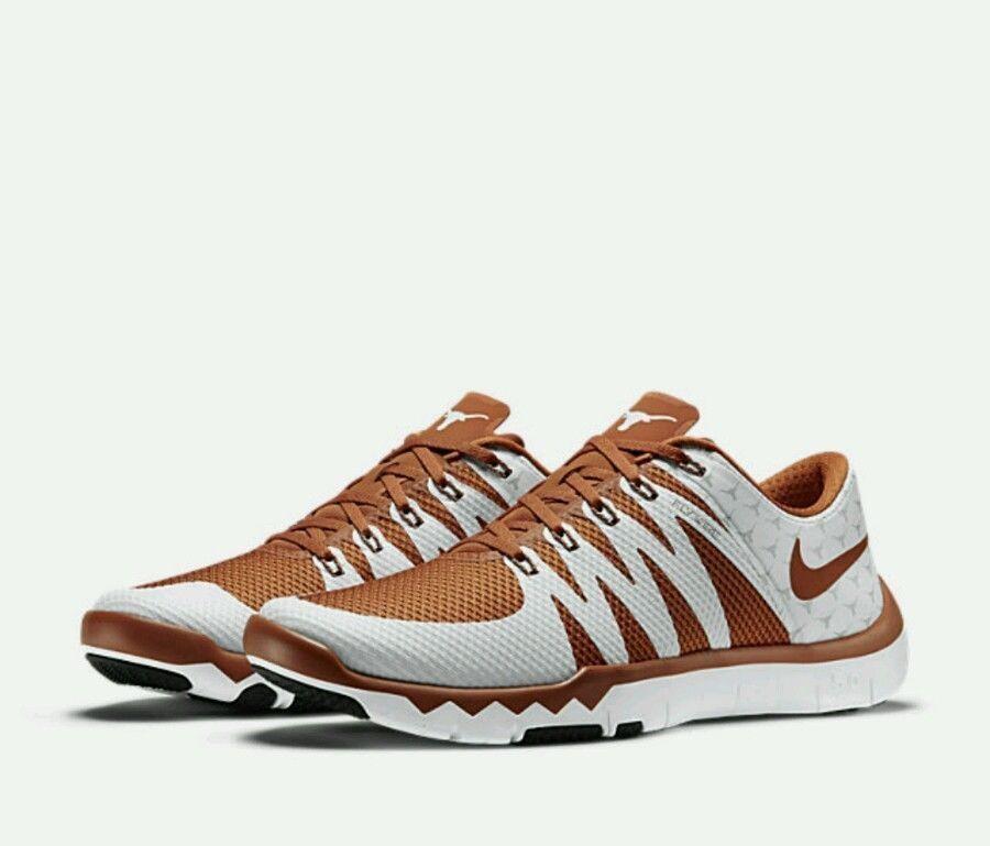 Nike Free Trainer 5.0 V6 AMP Texas Longhorns Mens Shoes 12