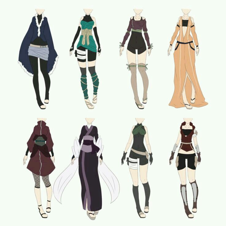 Outfit Fantasy Art Clothes Anime Outfits Ninja Outfit