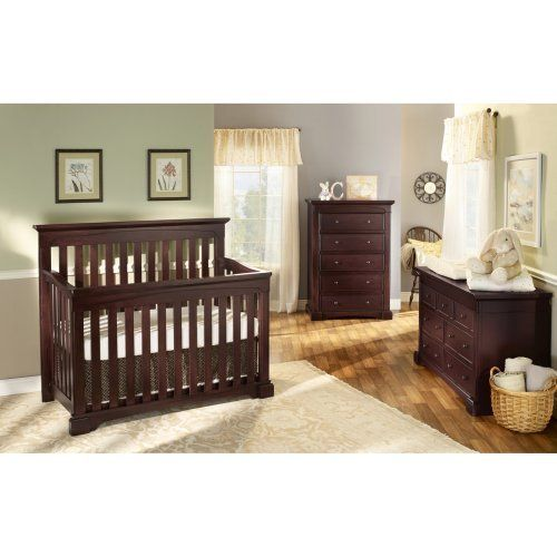 Superior Westwood Kingston 4 In 1 Convertible Crib Collection: Nursery Furniture :  Walmart.com