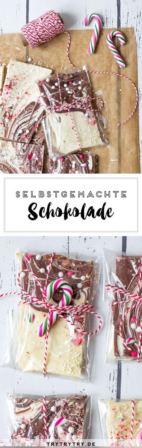 Selbstgemachte Schokolade zum Verschenken! | Geschenke für ...