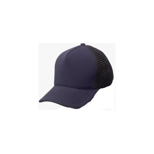 James Perse Scuba Trucker Hat in Dark Navy ❤ liked on Polyvore featuring  accessories c1caf78a4f7