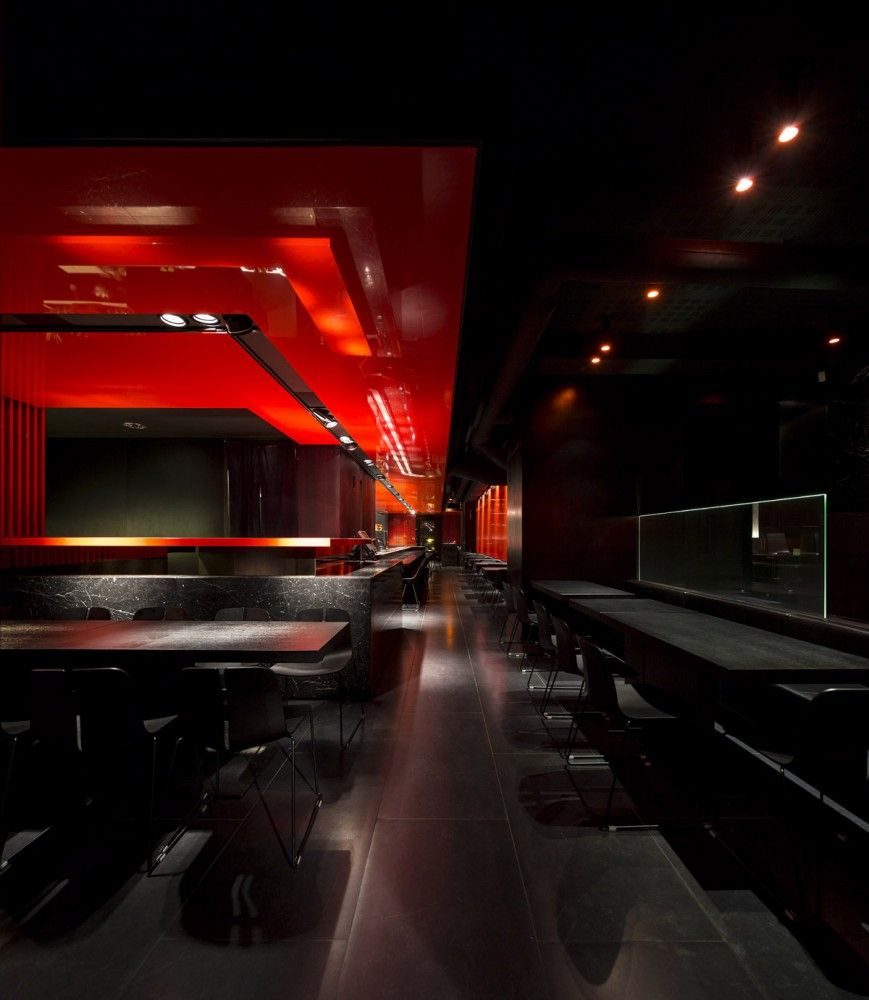 Gallery Of Zen Sushi Restaurant Carlo Berarducci Architecture 3 Sushi Restaurants Sushi Architecture
