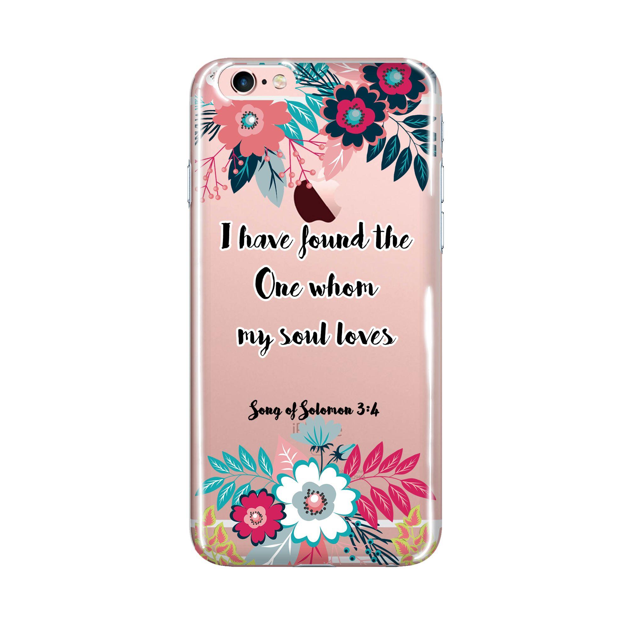 new concept e1f27 b8098 iPhone Case Bible Verse, Clear Transparent Phone Case, Bible ...