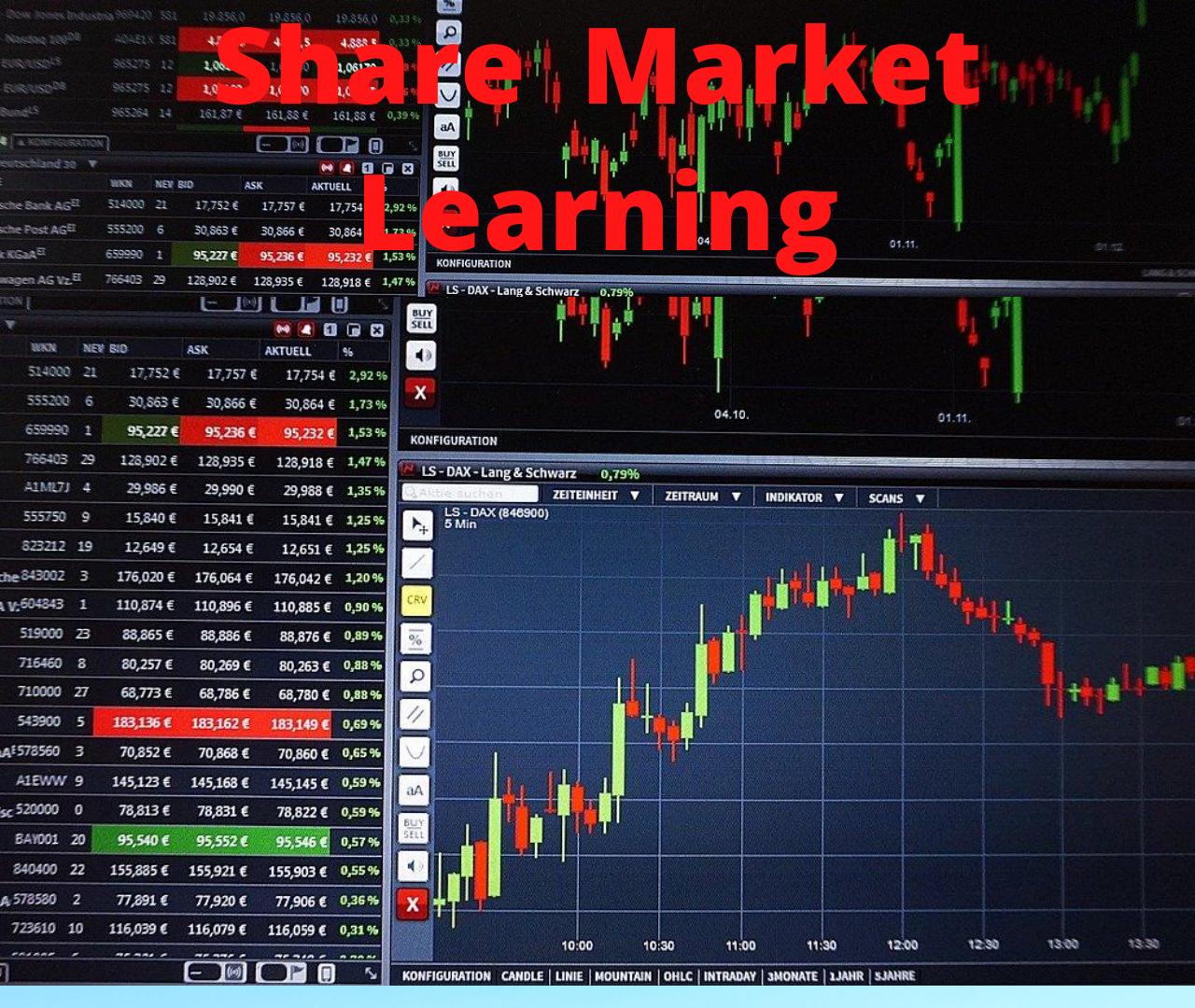 Share Market Basics & fundamentals Beginners guide for