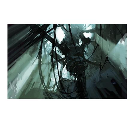 Portal 2 Signed Lithograph Destroyed Glados Portal 2