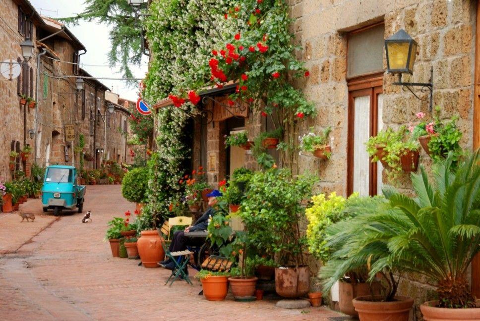 Sovano, ein schnuckeliger, kleiner Ort am südlichen Zipfel der Toskana