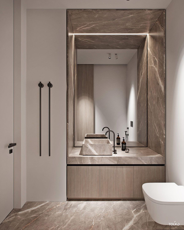Luxury Interior Design Using A Neutral Palette Bathroom Interior Design Luxury Interior Design Bathroom Interior
