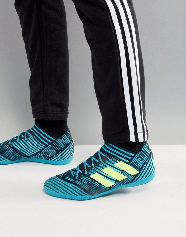 34e8a685dd20 adidas Soccer Nemeziz Tango 17.3 Indoor Sneakers In Navy BY2462 ...