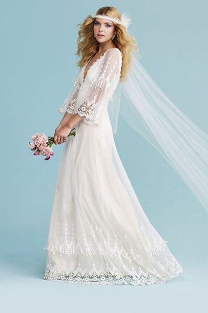 70s Wedding Dress Styles