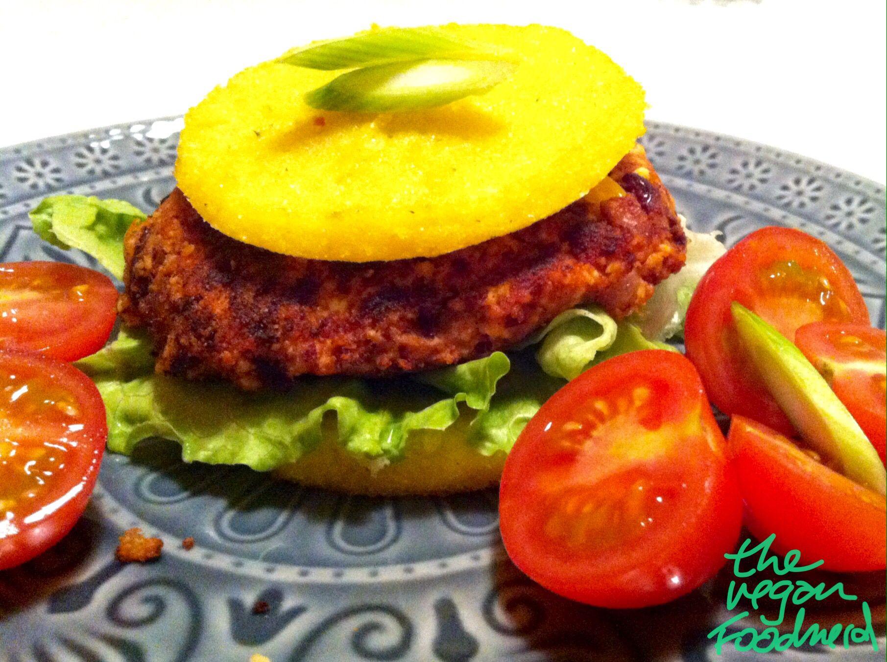 Polenta Burger #glutenfree