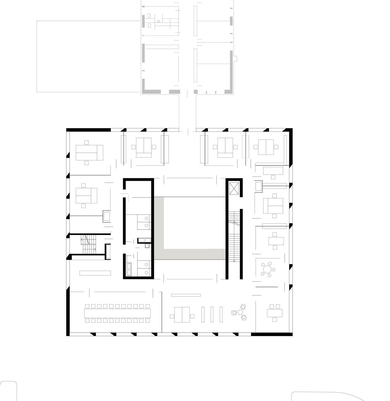 verwaltungsgeb ude karl k hler in besigheim beton b ro verwaltung architecture drawings. Black Bedroom Furniture Sets. Home Design Ideas