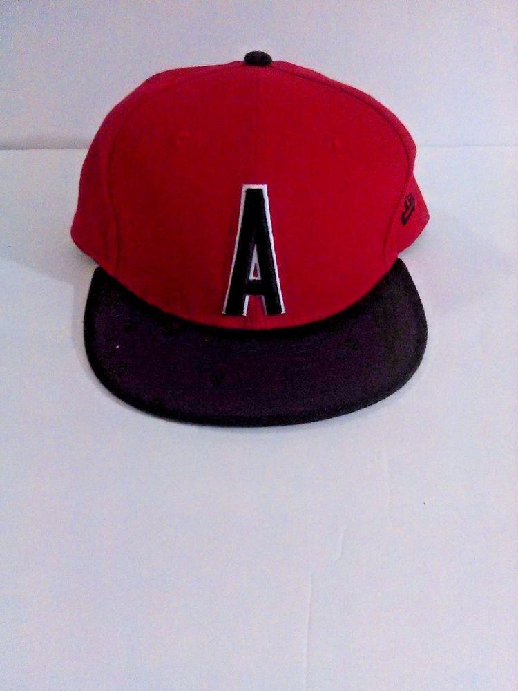 Muhammad Ali Red & Black Fitted New Era Baseball Cap