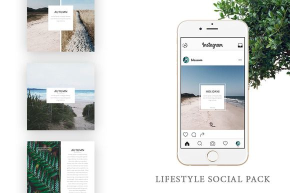 Lifestyle Social Pack by Blossom on @creativemarket