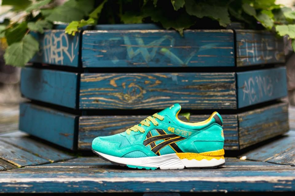timeless design d2fa9 5415d Asics Gel Lyte V Tropical Green | Sole Collector | Kicks ...