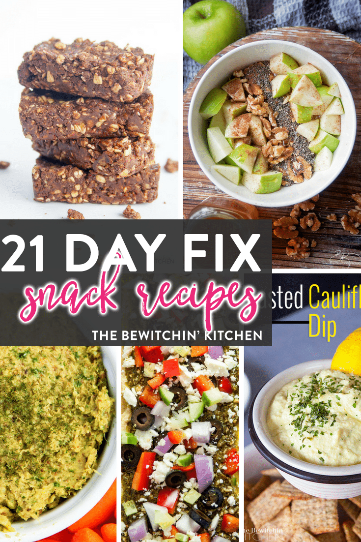 21 Day Fix snack ideas featured on the ULTIMATE 21 Day Fix resource guide - features reviews, 21 day fix results, and recipes.