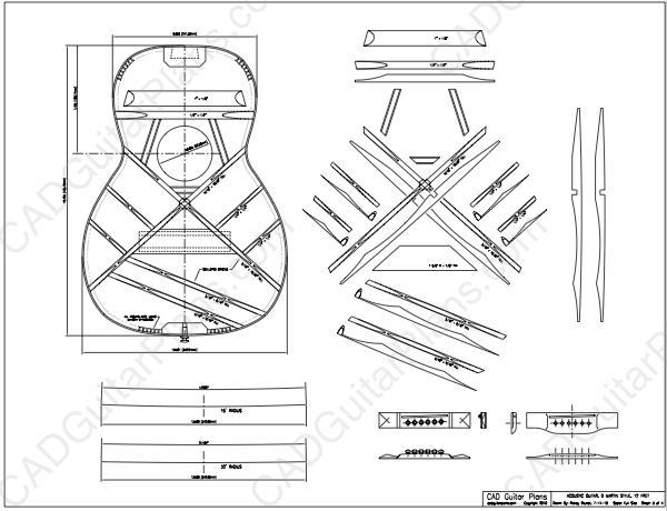 Pdf Size 0 Martin 12 Fret Body Style Acoustic Guitar Plan Acoustic Guitar Acoustic Guitar Notes Guitar Design