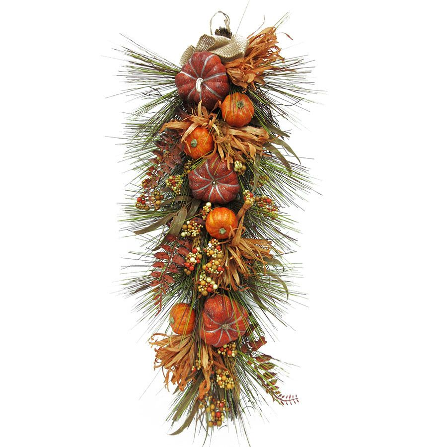Lowes Christmas Garland.Holiday Living 0 45 In Indoor Outdoor Leaf Artificial