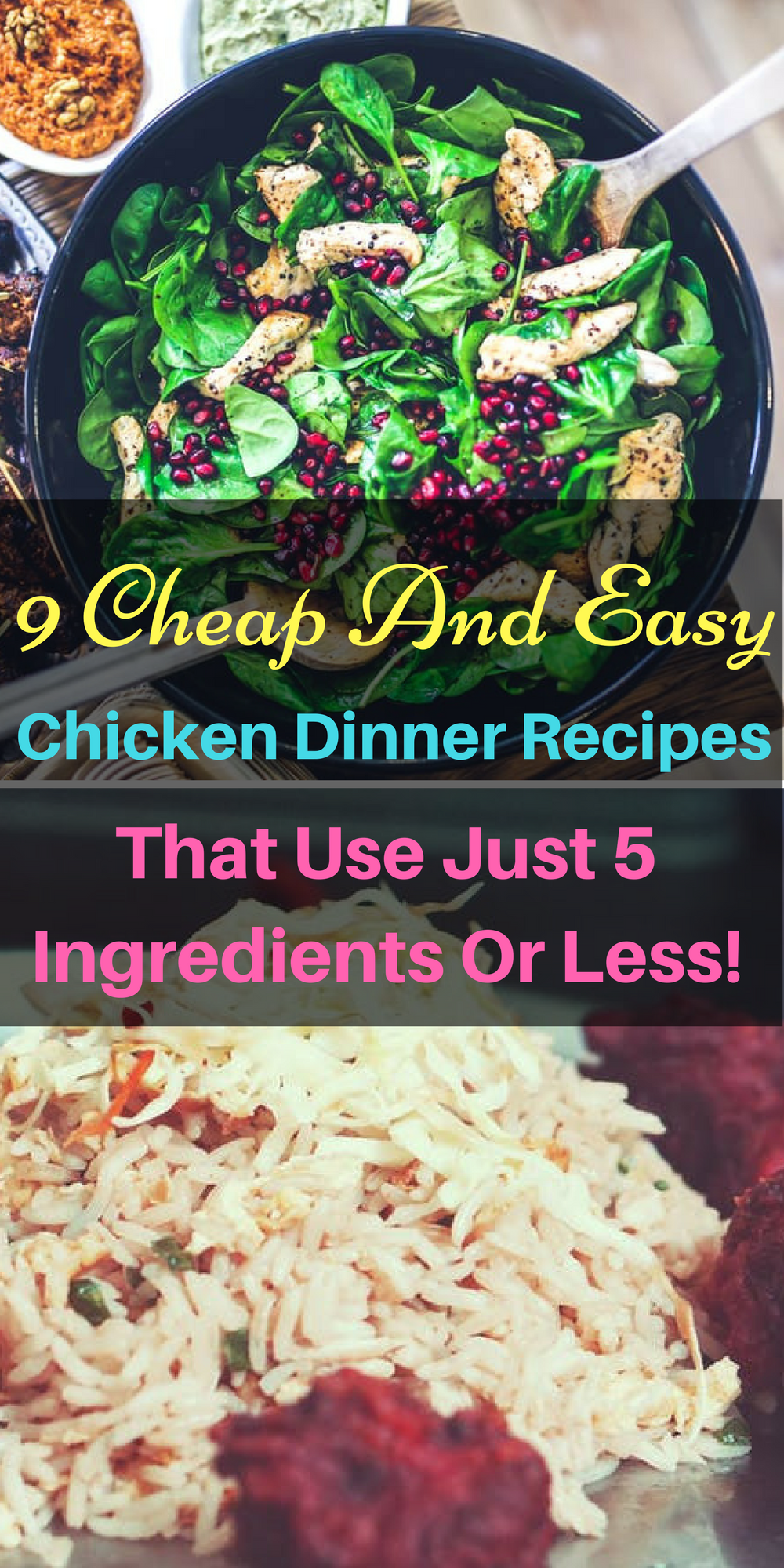 9 genius chicken dinner recipes that use just 5 ingredients or 9 genius chicken dinner recipes that use just 5 ingredients or less forumfinder Images