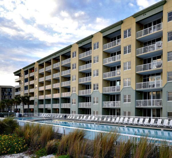 Amenities at Waters Edge Condominiums include a 5,000-square-foot Gulfside pool.