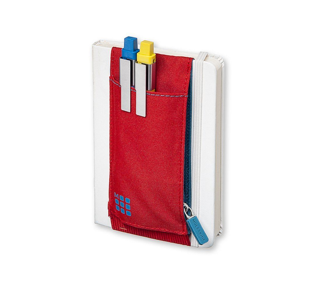 Moleskine Tool Belt Pocket Scarlet Red Office Products