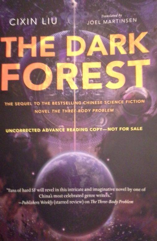 Reading Cixin Liu's THE DARK FOREST