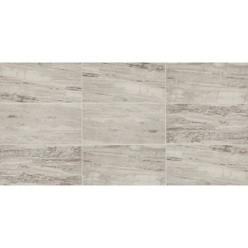 Master Bath Wall Tile Daltile River Marble Silver Springs Polished Set In Horizantal Offset
