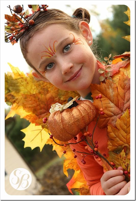 autumn fairy queen halloween costume easy to put together with fall decor and a