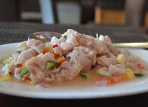 Kilawin Tanique Raw Fish