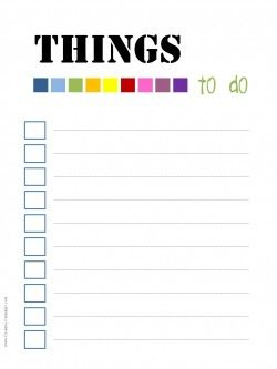 things to do checklist template koni polycode co