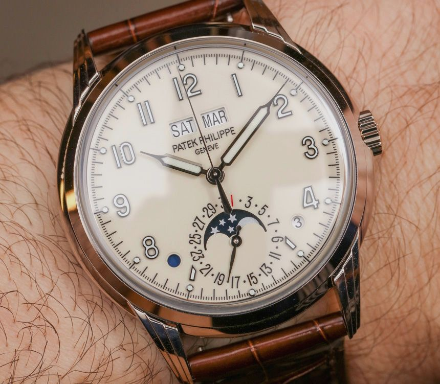 Patek Philippe Perpetual Calendar Ref 5320G Watch Hands-On - how to make a perpetual calendar