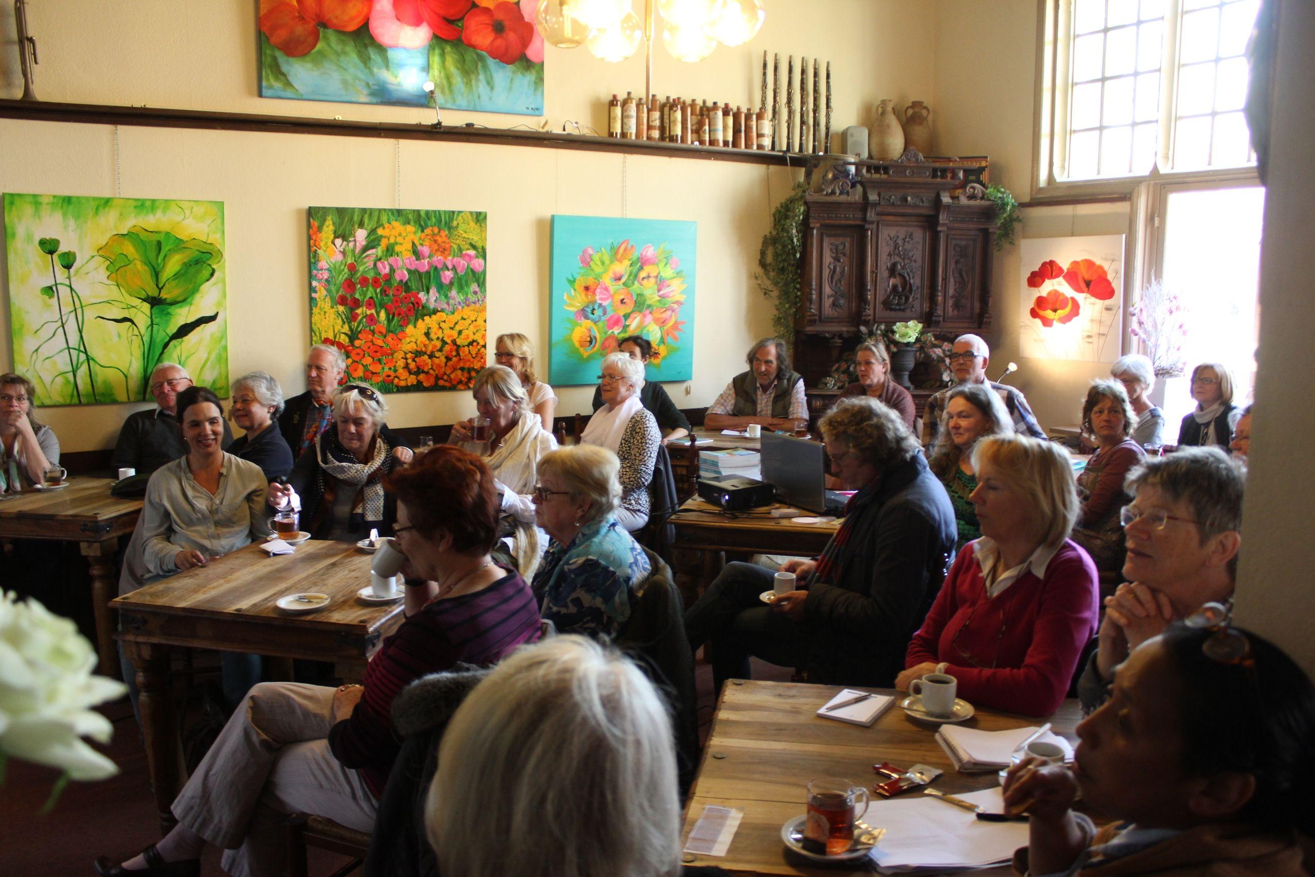Informatiebijeenkomt voor kunstenaars 20 april 2015