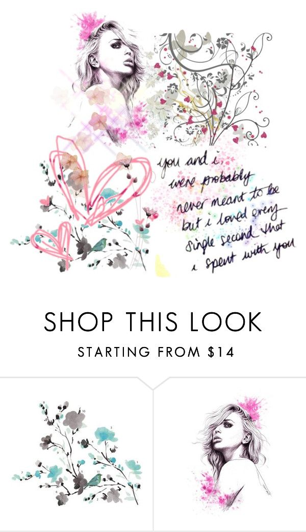 """""""Untitled #950"""" by pandoraslittlebox ❤ liked on Polyvore featuring York Wallcoverings and WALL"""