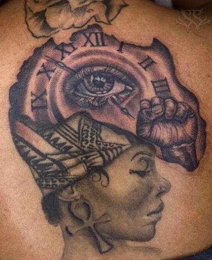 The queen tattoo design by Cleicha on DeviantArt