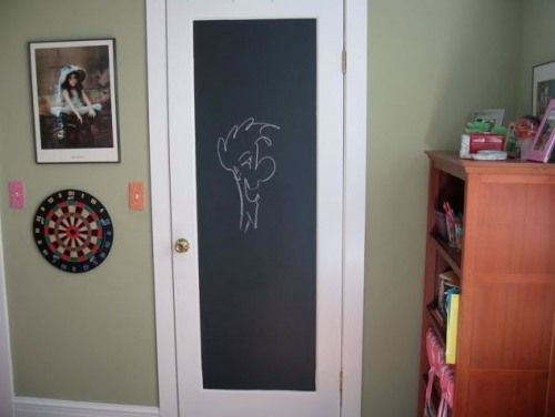les 25 meilleures id es de la cat gorie peinture des portes en tableau noir sur pinterest. Black Bedroom Furniture Sets. Home Design Ideas