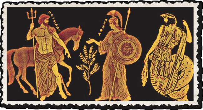 Romain de Tirtoff  Counted Cross Stitch Chart Pattern Goddess Athena ERTE