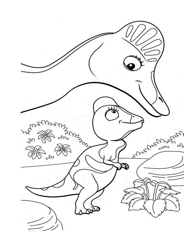 Cory The Corythosaurus And Her Mother In Dinosaurus Train Coloring Page Coloring Sun In 2020 Dinosaur Coloring Pages Cartoon Coloring Pages Coloring Pages