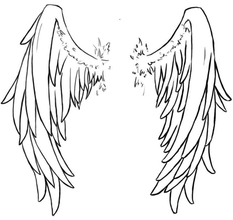 картинки тату крылья ангела фото