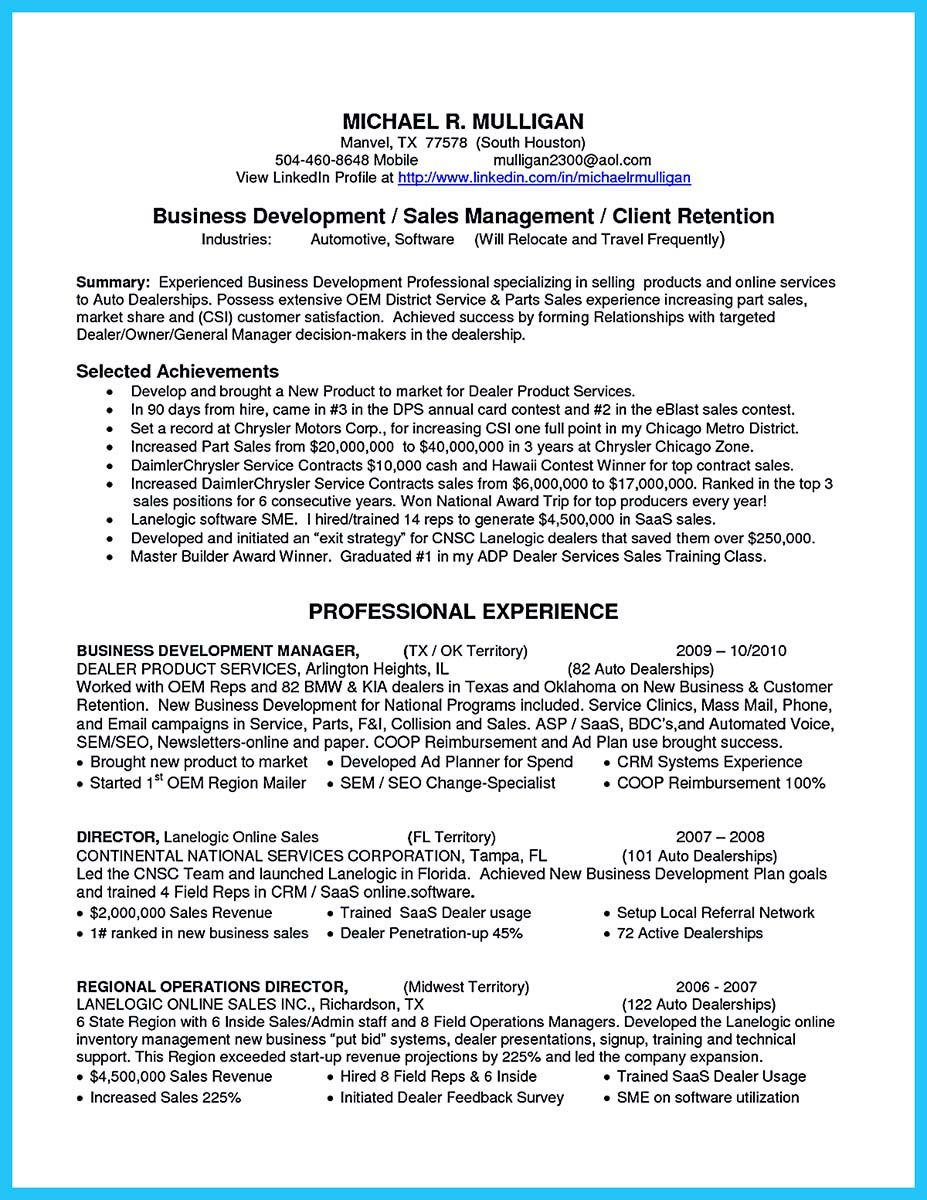 cool make the most magnificent business manager resume for brighter future