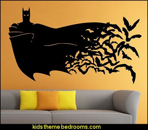 Batman Wall Vinyl Decal Movie Cartoon Sticker Art Mural Home Decor | House  Ideas | Pinterest | Wall Vinyl, Batman And Cartoon