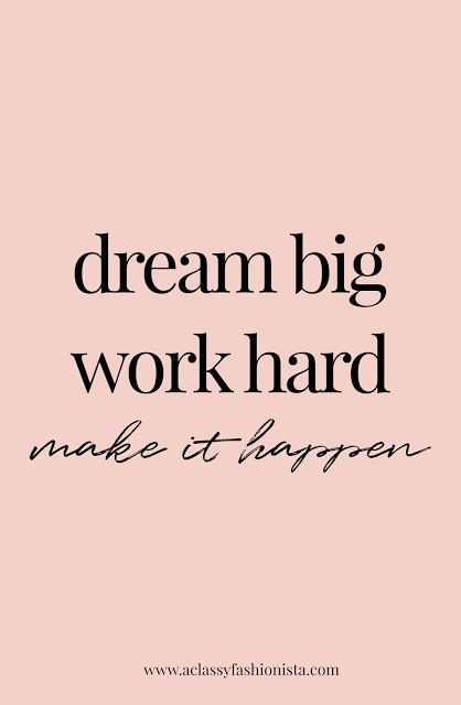 FEBRUARY GOALS + MINI LIFE UPDATE--REAL TALK | A Classy Fashionista // Dream Big | Work Hard | Make It Happen | Motivational Quote | Inspiring