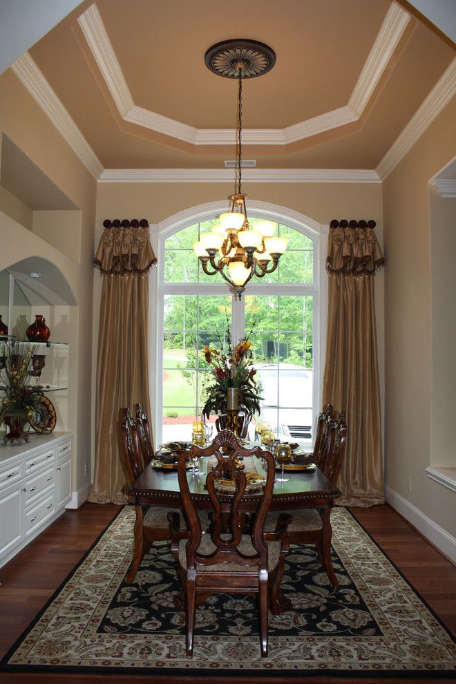 Formal Dining Room Traditional Window Treatments Other Metro