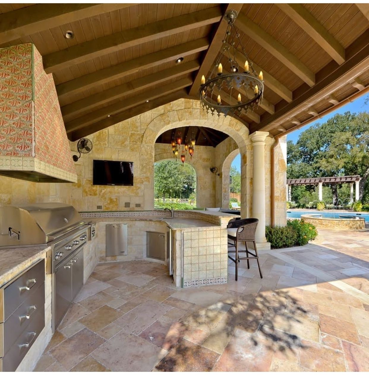 Pin by Judy Fancher on Outdoor kitchen   Outdoor kitchen