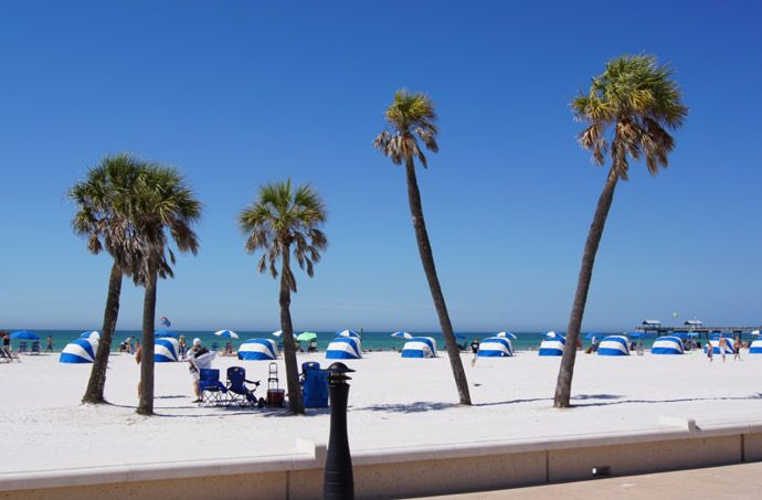 I could live in Clearwater Beach Florida. Perfect place to ride your roller blades.