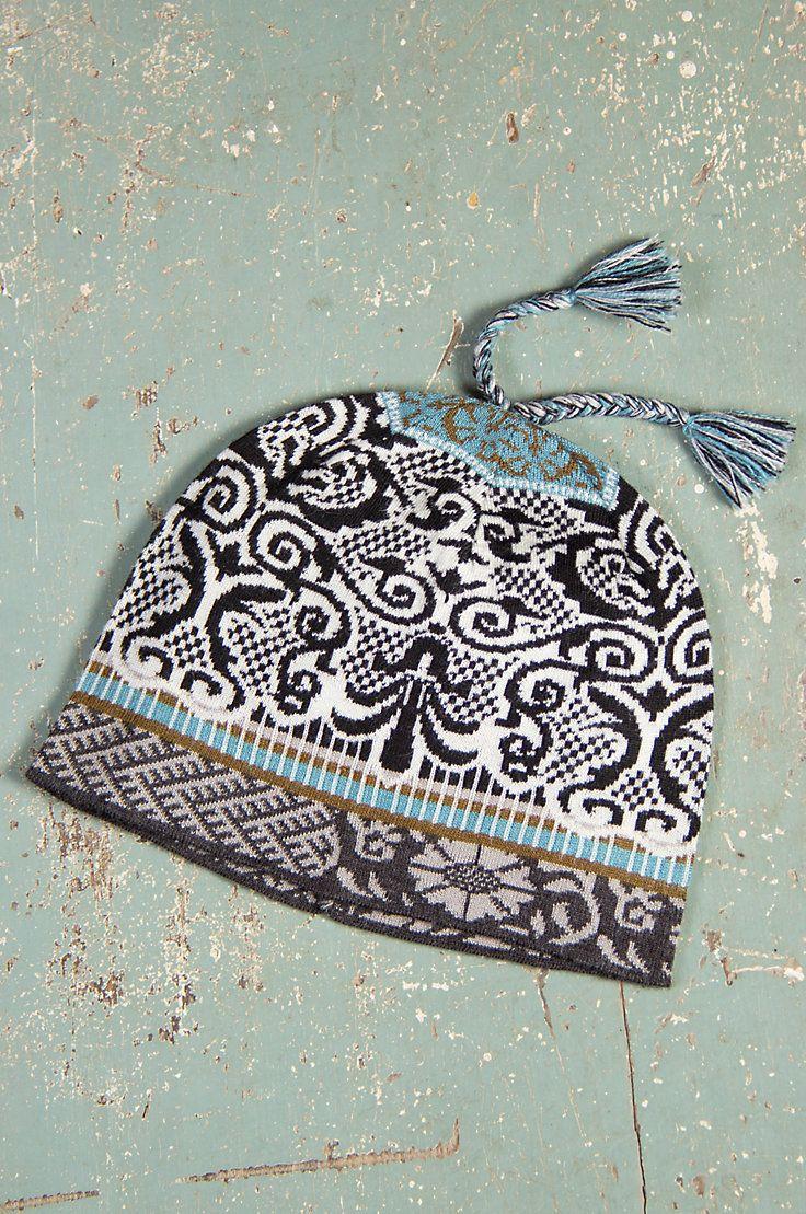 Women's Chloe Handmade Wool-Blend Beanie Hat by Overland Sheepskin Co. (style 70945)