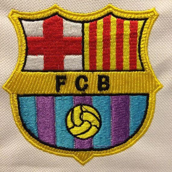 Escudo F C Barcelona Wilcom Embroidery Bordado
