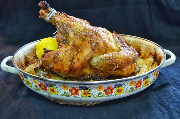 Pollo De Corral Al Horno Pollo De Corral Al Horno Pollo De Corral Pollo