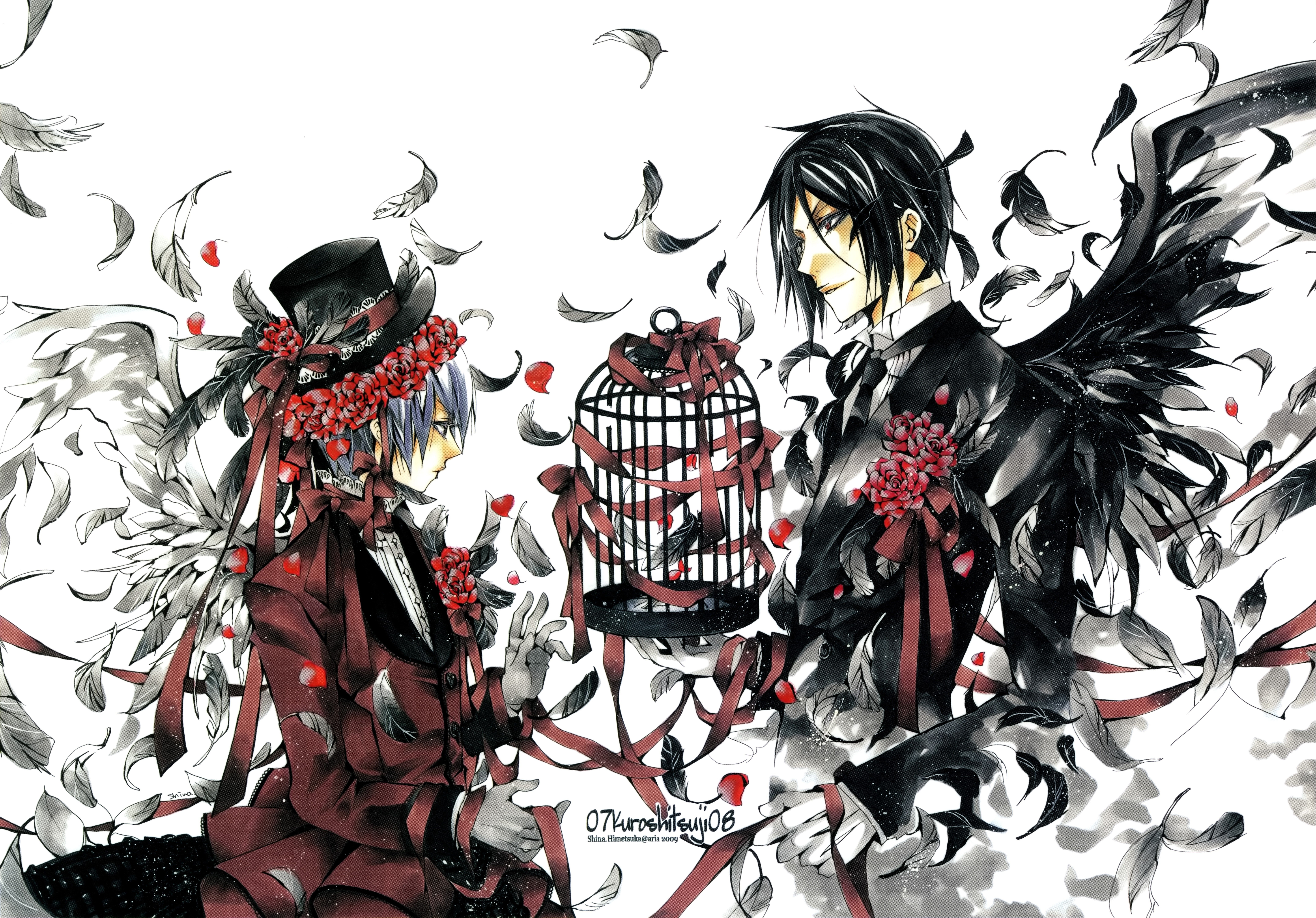 Free Desktop Wallpaper Downloads Black Butler Mansfield Archibald 8600x6002