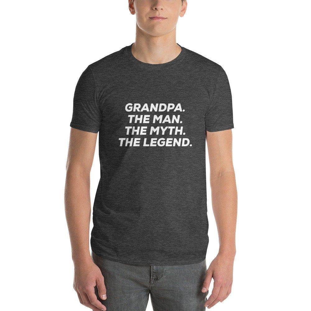 Grandpa Shirt,The Man shirts, The Myth The Legend Grandpa gift, Fathers day t shirt ,Husband Gift ,Grandpa Gift Funny T shirts #grandpagifts