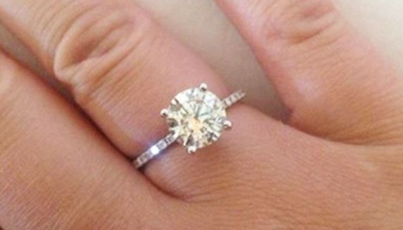 Perfect for your love/perfect engagement ring for your finger ...