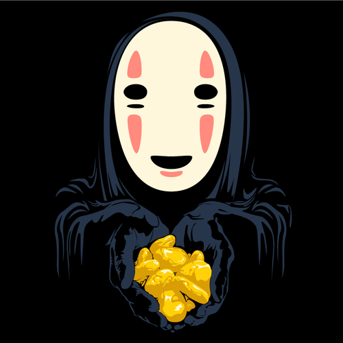 No Face Spirited Away And Well Earned Golden Nuggest Studio Ghibli Movies Ghibli Art Ghibli Movies